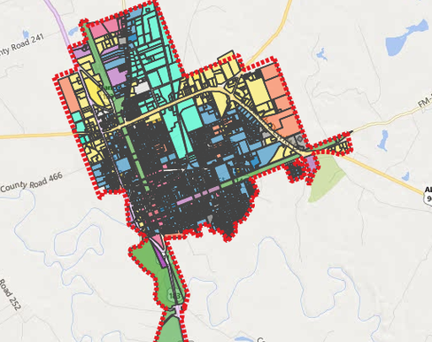 Gonzales-Zoning-Map